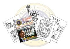 President Barack Obama - A Coloring & Activity Book by N. Wayne Bell